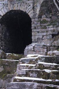pognana lario, il Castello di Pognana) inverno